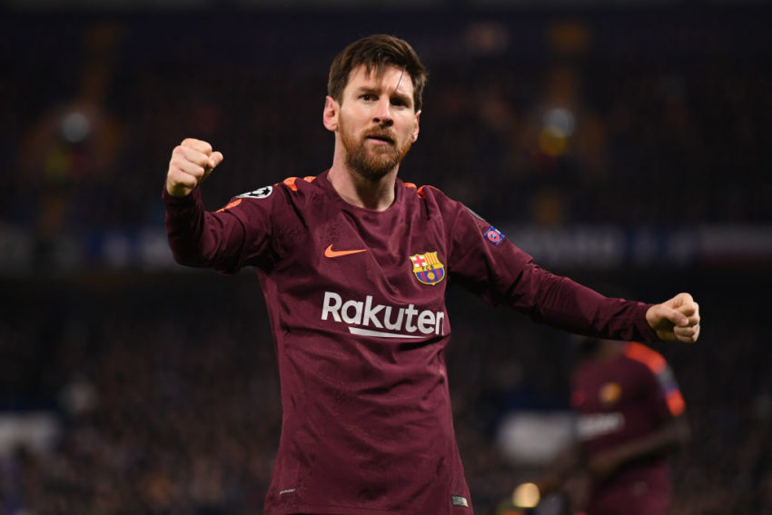 Manchester City Messi